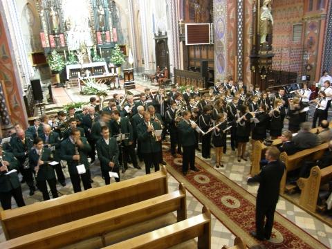 Koncert orkiestr dętych - październik 2008